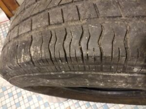 Aurora P235 75r15 Tire Used 4 10 For Spare Pickup Only