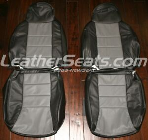 1997 2002 Jeep Cherokee Sport Leather Seat Upholstery Covers 01