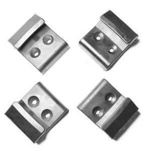 4pc Tire Tyre Changer Machine Protector Parts Plastic Inner Jaw Clamps For Coats
