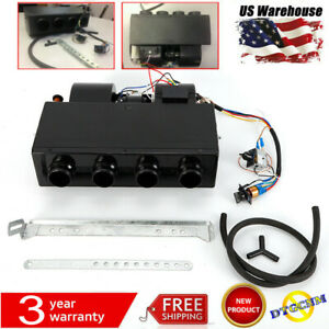 Universal Under Dash Ac Evaporator Heat And Cool Unit 404 000 4 port 12v Stock