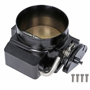 92mm Throttle Body For Gm Gen Iii Lsx Ls1 Ls2 Ls3 Ls4 Ls6 Ls7 Bolt Cable Black