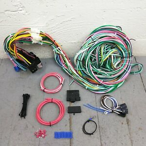 1950 1954 Chevy Car Wire Harness Upgrade Kit Fits Painless Compact Fuse Block