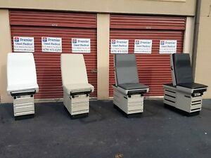 Matching Renewed Midmark 404 Exam Tables Contact Premier Medical 4 Colors