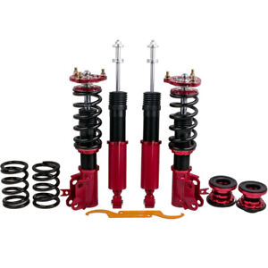 Coilovers Kits For Honda Civic 2006 2011 Height Adjustable Shocks Red
