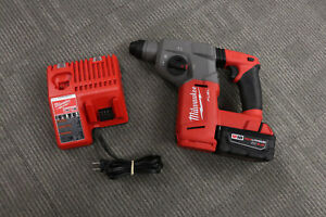 Milwaukee 2712 20 18v 1 Sds Plus Rotary Hammer Drill W charger
