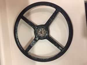 Antique Vintage Ford Model a Steering Wheel 17 Diameter Collector 1900 s Gvc