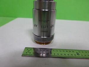 Microscope Leitz Wetzlar Germany Objective Fluotar 40x Optics As Is Bin 2b e 12