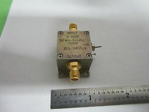 Mini Circuits Zel 0812ln Low Noise Amplifier Rf Microwave Frequency Bin f3 61