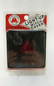 Brand New Mazamba Soccer Light Up Pick Up Truck Trailer Hitch Cover Fast Ship