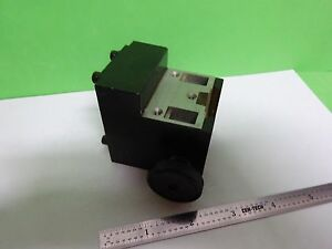 Microscope Part Leitz Germany Condenser Holder For Optics As Is Bin y5 34
