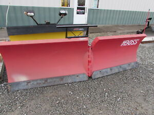 New Old Stock 10ft The Boss Power V Plow Snow Plow Rt3 Never Used From Dealer
