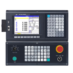 5 Axis Cnc Engraving Controller For Router Machine G Code Control Panel Atc Plc