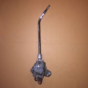 Hurst Mystery 3 speed Shifter W Round Bar Handle Vintage