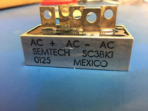 Semtech Sc3bk1 Full Wave Bridge Rectifier 3 Phase 100v 13a