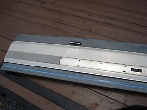 92 97 Ford F 150 250 350 Truck Bed Box Tailgate With Finish Panel Oem