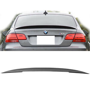 Carbon Fiber Cf Rear Wing Trunk Lip Spoiler Fits For Bmw E92 Coupe 328i 335i M3