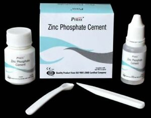 10x Dental Zinc Phosphate Cement Permanent Tooth Filling Fixation Kit