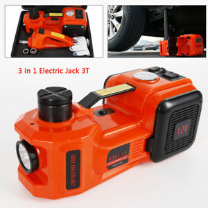 Wagan 12v Dc Powered 3 Ton Car Lift 3 in 1 Electric Car Jack Impact Wrench