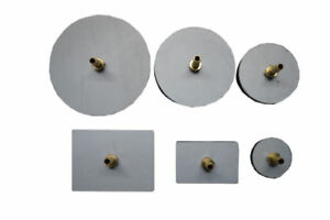 Vacuum Test Plates For Robinair Vacuum Pump 6 Pads With Brass Fittings Valve