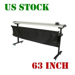 Us Stock 63 Inch Manual Large Format Paper Trimmer Cutter With Support Stand
