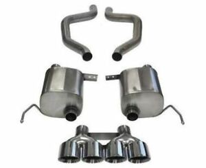Corsa Axle back Exhaust System Sport Sound 14768 For 2015 2019 Chevy Corvette
