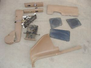 Ford Bronco Ii Ranger 1984 1988 Misc Interior Parts Dash Covers Swtiches