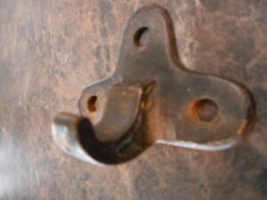 Vintage Hardware Hook Furniture Antique Restoration Farmhouse Rustic Wall Mount