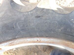 Farmall International 560 Diesel 15 5 38 Agri Power Tires And Rims