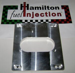 Cnc Machined 4 Bbl Tbi Adapter For Bbc 454 7 4l Hamilton Fuel Injection