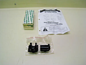 Greenlee 00950 Kearny Style Guy Wire Cutter Die Set New Free Shipping
