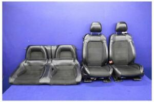 2015 2017 Ford Mustang Gt350 Leather Alcantara Coupe Seats Front Rear Oem Seats