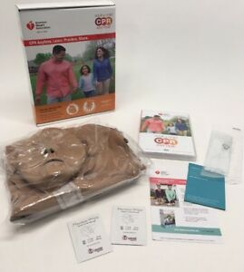 New Adult Child Cpr Anytime Kit Mini Anne Manikin Bilingual Instructions