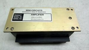 Mini circuits Amplifier Model Zhl 2 bnc