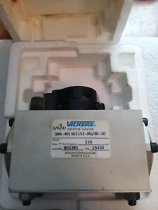 Vickers Hydraulic Servo Valve Model Sm4 40 40 151 80 40 10 new