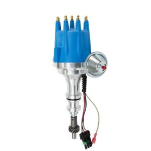 Ford 351w V8 Pro Series Ready To Run Distributor Blue