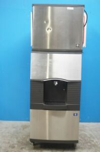 Manitowoc Hotel 180lbs Ice Dispender Bin With Water Valve Model Sfa 291