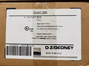 Guac200 Appleton Box Crouse Hinds Oz Gedney T b haz Location Cond Outlet Box