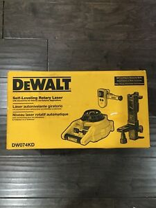 Brandnew Rotary Laser Level Kit Dw074kd Dewalt Self Leveling Horizontal Vertical