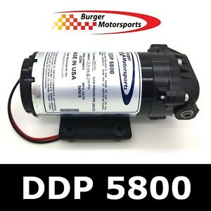 Burger Motorsports 200psi Water Methanol Alcohol Injection Pump Aquatec Ddp 5800