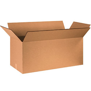 Box Usa Bhd402020dw Double Wall Boxes 40 X 20 X 20 Kraft Pack Of 5