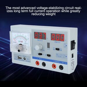 Digital Regulated Power Supply Adjustable Repair 100 240v Us Plug Dual Display S