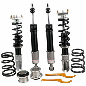 Coilovers Suspension Kit For Ford Mustang 94 04 4th 24 Ways Adj Damper Shock