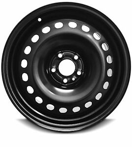 New 14 20 Jeep Cherokee 17 X7 5 Lug Black Replacement Steel Wheel Rim 5x110mm