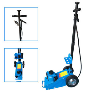 22 Ton Heavy Duty Air Hydraulic Floor Jack Mechanic Repair Car Lifting Tool Blue