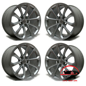 Set Of 4 Cadillac Cts V 2016 2017 2018 2019 19 Factory Oem Staggered Wheels Rims