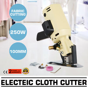 4 Electric Cloth Cutter Cutting Machine 250w Industrial 100mm Blade Yj 100a