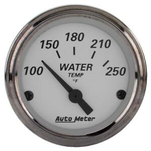 Auto Meter 1938 American Platinum Air Core Water Temperature Gauge