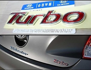 Genuine Hyundai Emblem Veloster Turbo For Veloster 86317 2v500