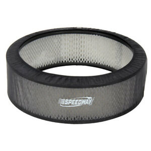 Black Air Filter Cover 14 X 4 Inch