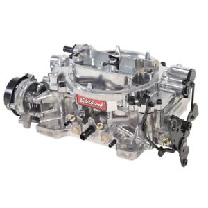 Edelbrock 1803 Dual Quad 4 Barrel Carburetor 500 Cfm Electric Choke